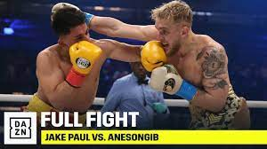 The $60 ppv event starts at 8 p.m. Jake Paul Defeats Anesongib Via First Round Stoppage Youtube