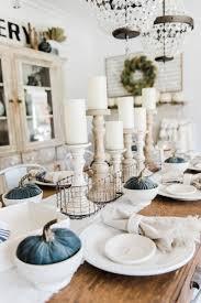 simple dining room table decor. Simple \u0026 Neutral Fall Farmhouse Dining Room - Liz Marie Blog. Table DecorFarmhouse Decor T