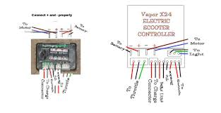 scooter electric parts throttles controllers control boxes wiring diagram · pin id picture of original vapor controller
