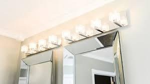 bathroom lighting and mirrors. Bathroom Wall Lighting Above Mirrors And Vanity N