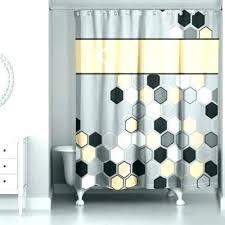 black grey shower curtain home marvelous black white grey shower curtain gray curtains and pattern geometric black grey shower curtain