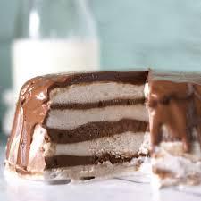 3 Ingredient Chocolate Banana Cream Ice Cream Cake Kelley And