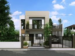 Modern 2 Storey House Designs  Google Search  House Ideas Two Storey Modern House Designs