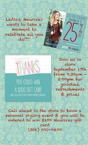 las maurices wants to take a moment to celebrate all you do