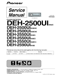 wiring diagram pioneer deh 2500ui circuit connection diagram \u2022 Pioneer Wiring- Diagram pioneer deh 2500ui service manual download schematics eeprom rh elektrotanya com wiring diagram pioneer deh p4000ub pioneer deh 11 wiring diagram