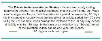 visa letter private guest invitation letter to ukraineinvitation for visa to