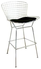 modern wire bar stool contemporary bar stools and counter stools by interiortrade