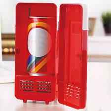 Mini USB Tủ Lạnh Tủ Đông Uống Bia Mát Tủ Lạnh Cho Du Lịch Xe Văn Phòng