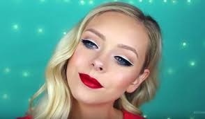 double lining wearable 4th of july makeup looks