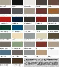 Solar Seal Color Chart Jim Mackie Distribution