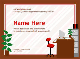 Administrative Professional Certificate Cool Certificate For Administrative Professional Template