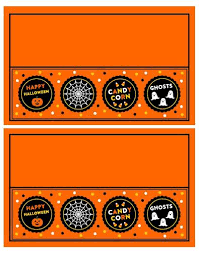 Halloween Plastic Bag Treat Topper With Cute Design Free Label
