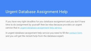 database assignment help x support professional speech writers database assignment help