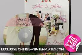 Cd Baby Templates Wedding Cd Dvd Cover Free Psd Brochure Template Facebook
