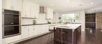 white shaker style custom kitchen