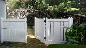 vinyl fence with metal gate. Vinyl Fence Gate White Semi Private In Accessories . With Metal