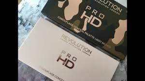 makeup revolution ultra pro hd camouflage palette light um
