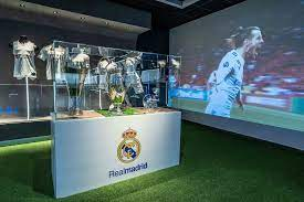 Real Madrid exhibition at the Rafa Nadal Museum Experience