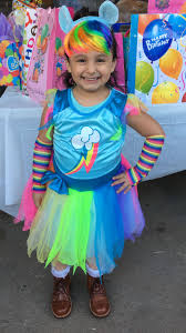 Pony Costume Ideas Rainbow Dash My Little Pony Costume Ideas Bday Ideas