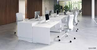 45 White Height Adjustable Office Desks ...