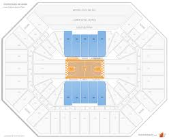 University Of Tennessee Seating Chart Thompson Boling Arena Tennessee Seating Guide
