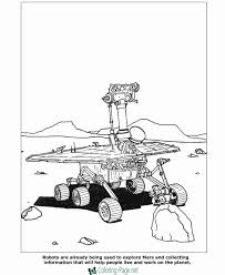 Small Picture Coloring Pages Moon Robots