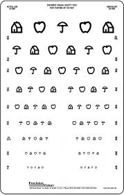 20 20 Vision Chart House Apple Umbrella Translucent Vision Chart