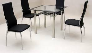 glass hygena square and argos est table set harveys black stunning small clearance round chairs leather