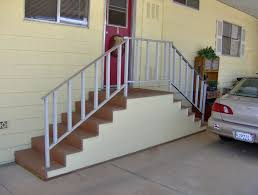 the choice of material for constructing steps for your mobile home will depend on how much money you are willing to spend basically there are four