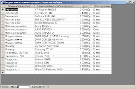 База данных Компьютерная фирма упрощенная версия Курсовая  база данных компьютерная фирма продажа компьютер комплектующее автоматизация ms access er даталогическое проектирование инфологическая
