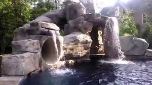 swimming pools with slides and waterfalls. Exellent Pools To Swimming Pools With Slides And Waterfalls A