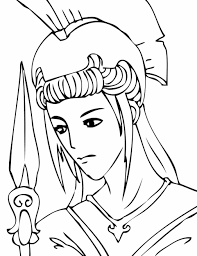 Small Picture Greek Greek God Coloring Pages Mythology Gods And Goddesses U