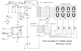 7 segment clock circuit diagram the wiring diagram clock wiring diagram