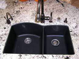 blanco silgranit sink nifty black granite posite kitchen sink in blanco silgranit sink
