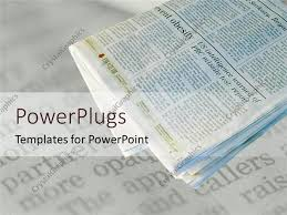Powerpoint Newspaper Clipping Template News Report Powerpoint Template Newspaper Headline