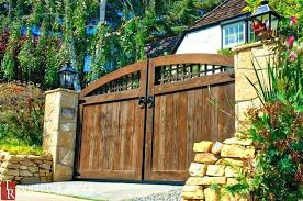 how to build a driveway gate wooden building a driveway gate wood fence door front yard