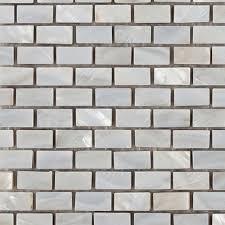 pearl mosaic floor wall tiles image 2