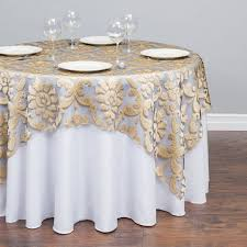round baroque sheer overlay
