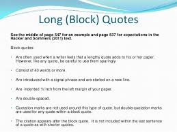 Apa Format Long Quotes Ibovjonathandedecker Delectable Quote Apa Format