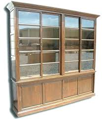 altra bookcase bookcases altra aaron lane bookcase with sliding glass doors white