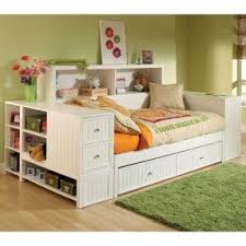 Daybed with storage and trundle
