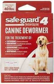 Vetguard Plus Dosage Chart Details About Safe Guard Canine Dewormer For Large Dogs 4gram New Free Shipping