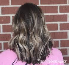 2018 Hair Trends Balayage Shorthair Shoulderlenghthair