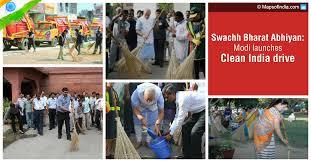 swachh bharat abhiyan modi launches cleanliness campaign my modi launches swachh bharat abhiyan ldquo
