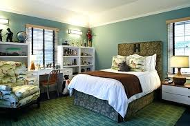 brown and green bedroom olive turquoise