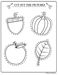 Preschool Activities for Fall Free Printable File to Fight Boredom ...