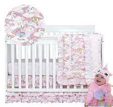 brandream unicorn crib bedding sets for