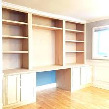 office desk with bookcase how to make a fake built in desk for less office desk office desk with bookcase