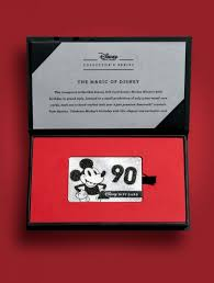 disney gift card collector s series card and custom box