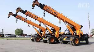 Action Construction Equipment Mobile Cranes 12xw